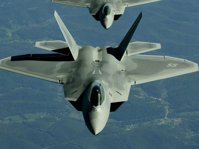 Самолет, Военный, F-22 Raptor