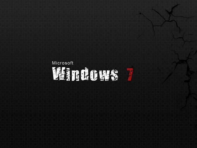 Обои Windows 7, текстуры, фон, трещины