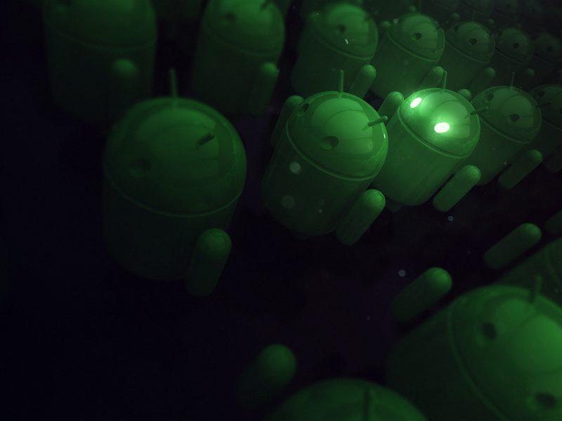 Обои Андроид, android, green, рендеринг