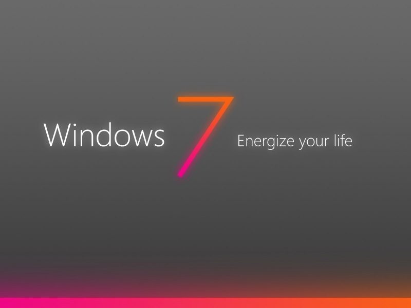 Обои Windows, seven, 7, energize, your, world