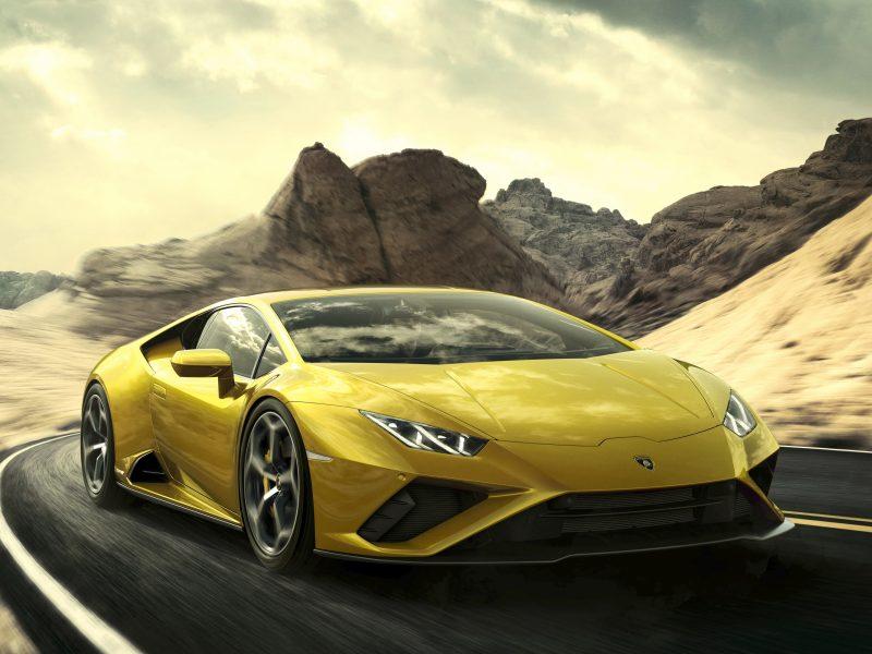 Обои скорость, Lamborghini, Huracan, 2020, Huracan Evo для рабочего стола