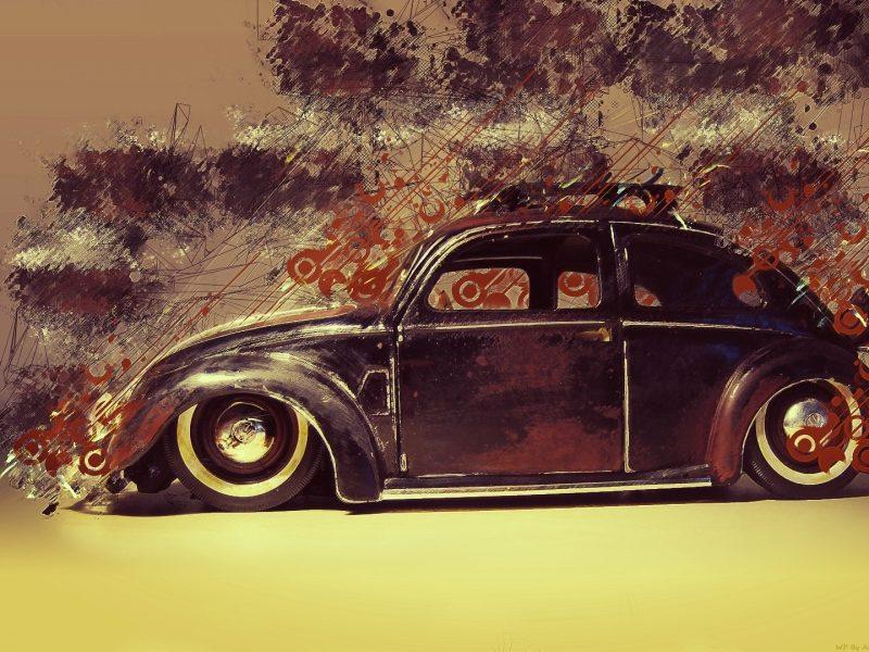 жук, resto, beetle, Volkswagen