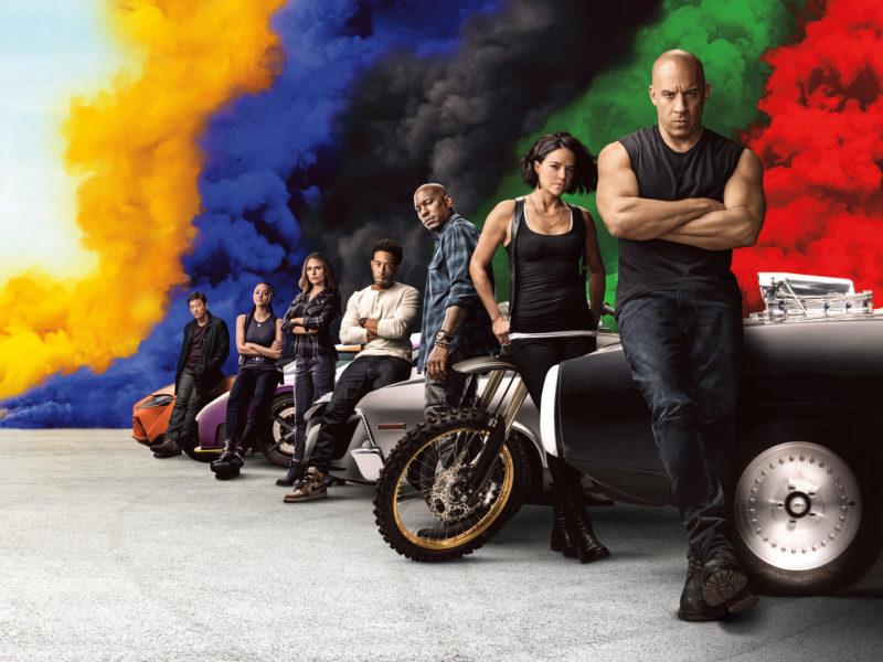 Постер с персонажами фильма Форсаж 9, 2020