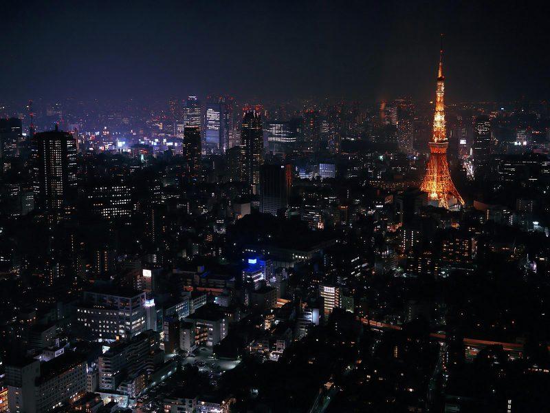 Токио, Города, Архитектура, Здания