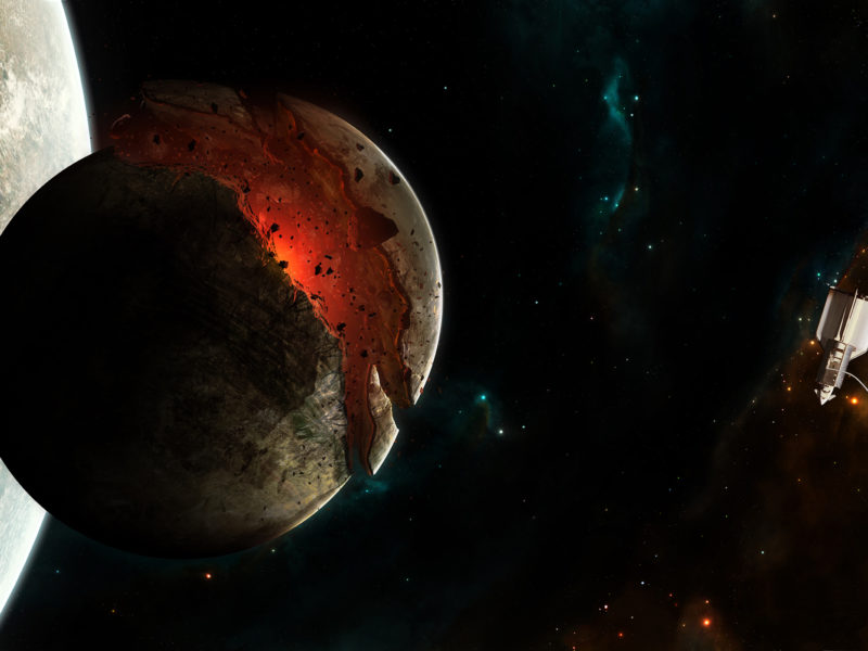Космическое пространство, Планеты