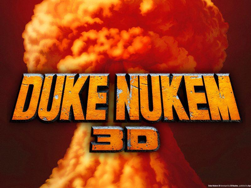 3D вид (3д), Видеоигры, Duke Nukem