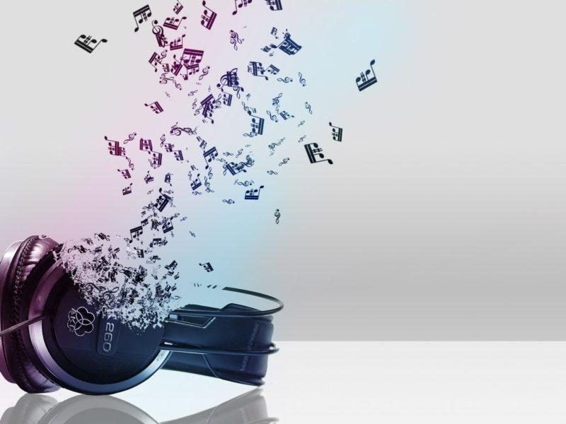 Наушники, Абстракции, Музыка