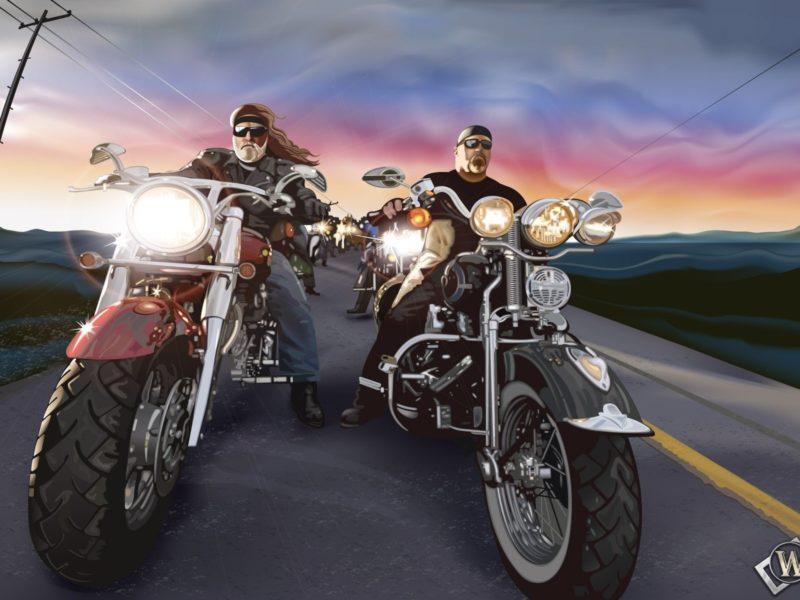 Фэнтази, Маршрут 66, Мотоциклы