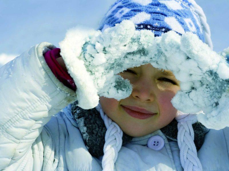 Обои девочка, ребенок, зима
