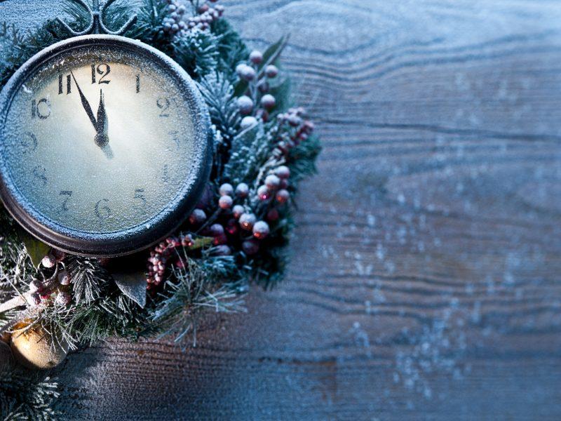Обои new year, новый год, рождество, frozen, Clock