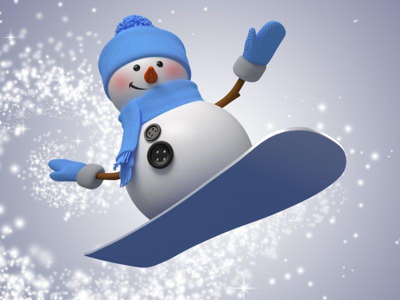 Обои snowman, winter, снегови, Рождество, snow, новый год