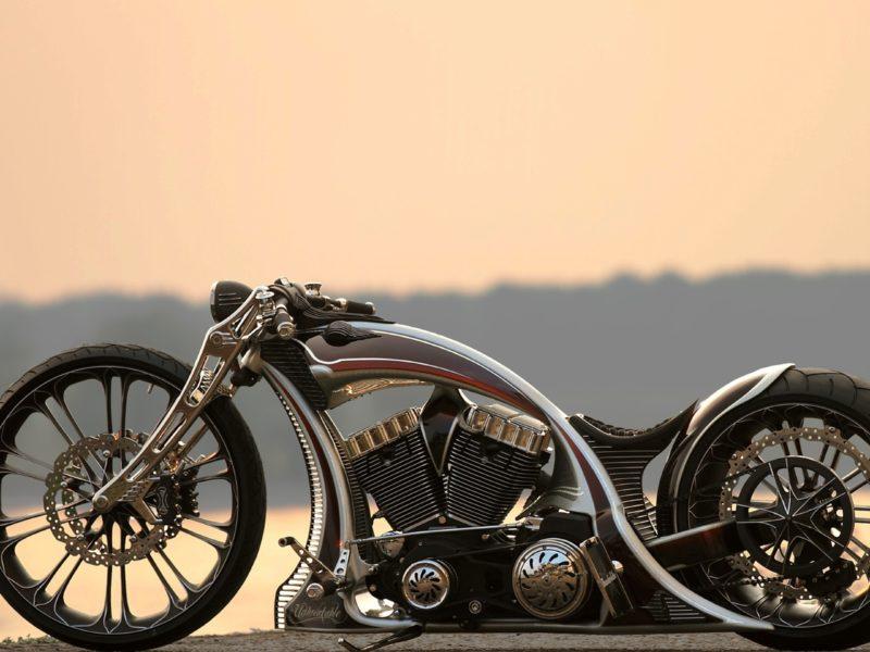 Обои costom, bike