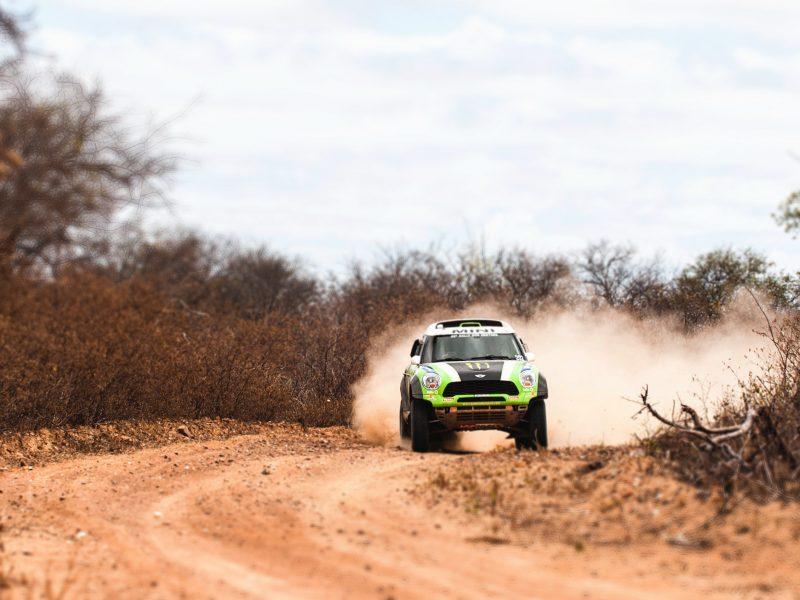 Обои x-raid, mini, rally, мини купер, зеленый, dakar, Mini cooper, авто