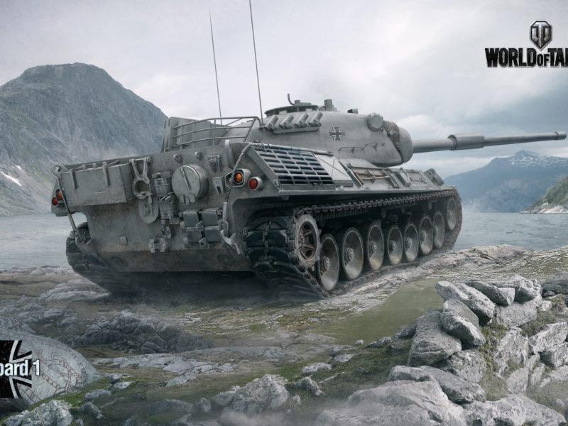Обои leopard i, Wargaming net, мир танков, world of tanks, немецкий танк, wot