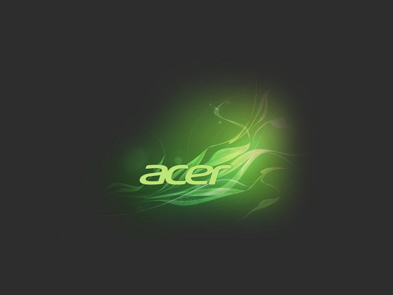 Обои acer, logo, Абстракция