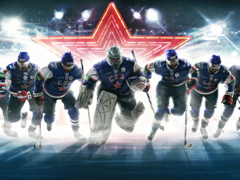Обои ска, команда, вратарь, политпроект, Хоккей, hockey, ska