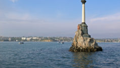 Обои вода, Севастополь, чёрное море, город, герой