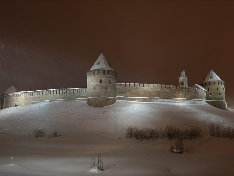 Обои новгородский кремль, город, северная часть, Новгород