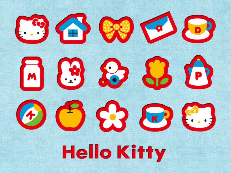 Япония, Hello Kitty, Логотипы