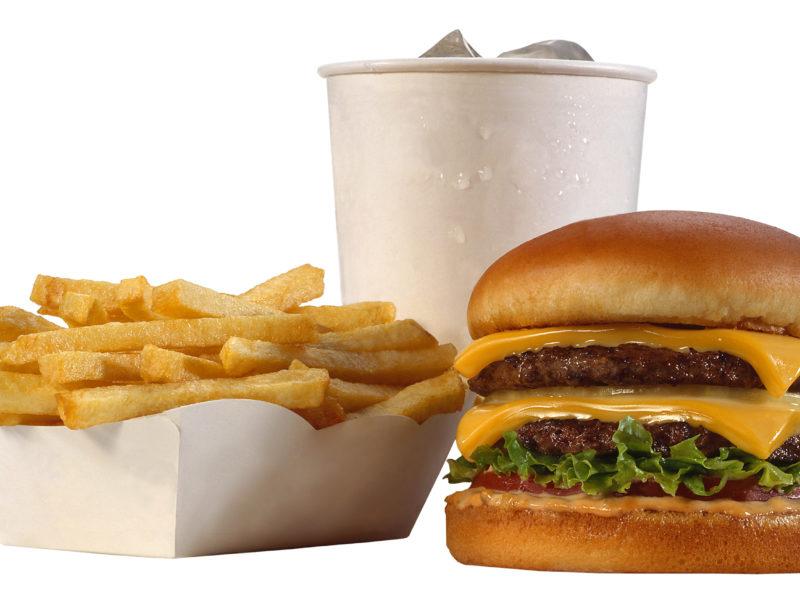 Еда, Сыр, Картофель-фри, Напитки, Гамбургеры