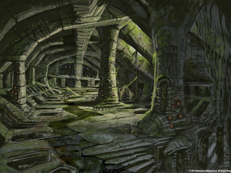Фэнтази, Концепт-арт, The Elder Scrolls V : Skyrim