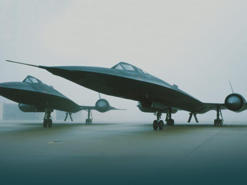 Обои Lockheed, sr-71, blackbird, самолеты на рабочий стол.