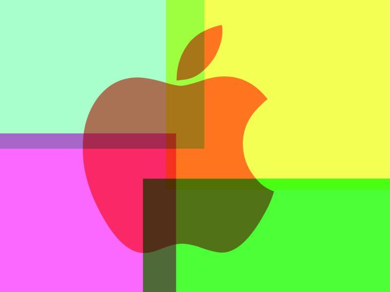 Обои apple, яблоко, телефон, логотип для рабочего стола