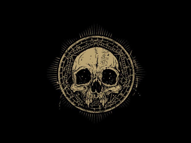 сатана, символы, ужас, мрак, Череп, круг, знаки