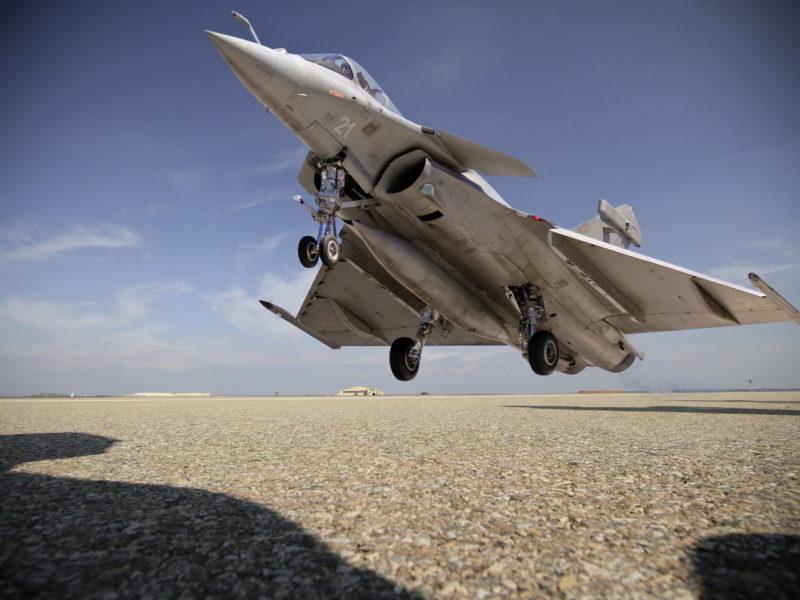 аэродром, самолёт, Rafale m, оружие