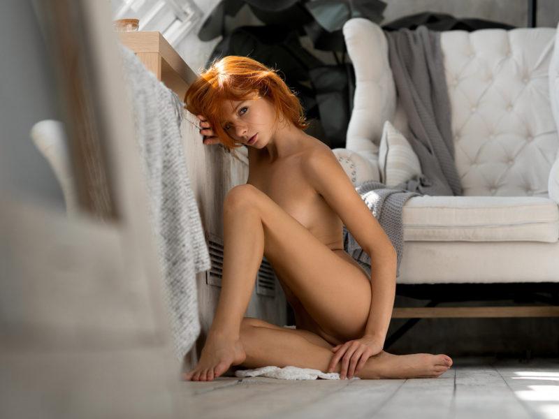 Марта Громова, девушка, голая