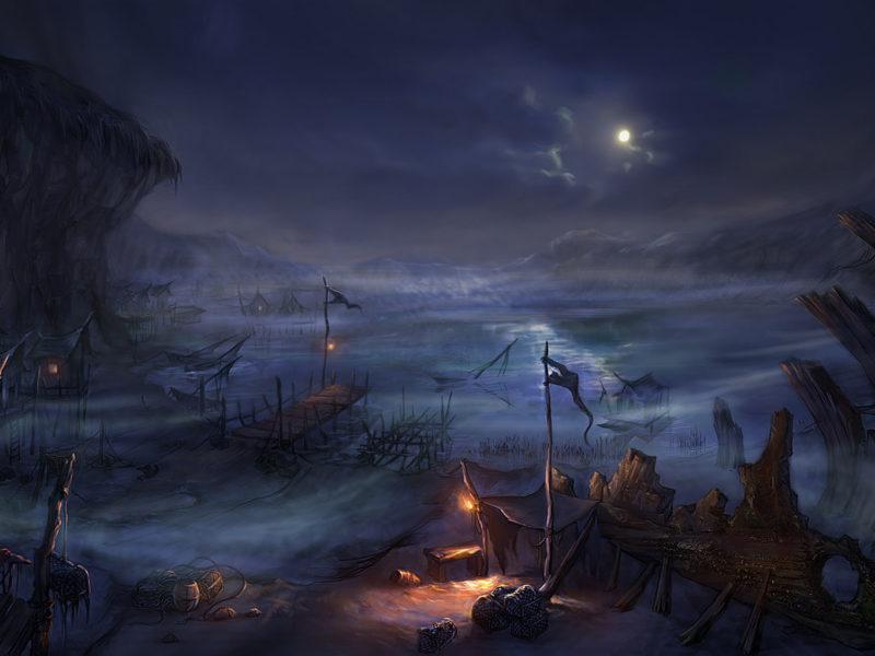 пожар уничтожил судно, лодки, луна, деревни, Ночь, дома, сеть передачи, озера