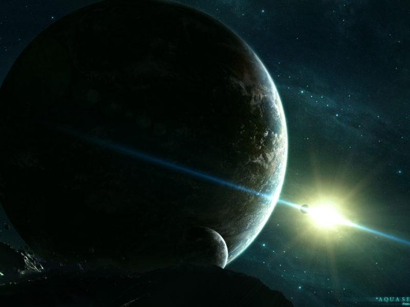 Солнце, Космическое пространство, Звезды, Галактики, Планеты