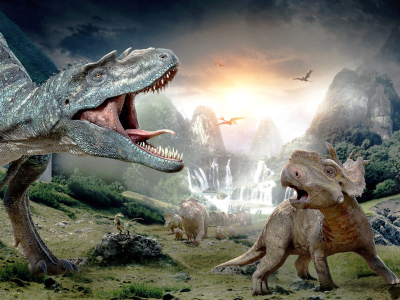Обои Динозавры, креатив
