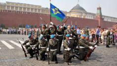 Обои парад, полиция, десантники, площадь, красная, Вдв