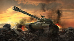 Обои wz-111, мир танков, wargaming net, World of tanks, тяжёлый танк, wot