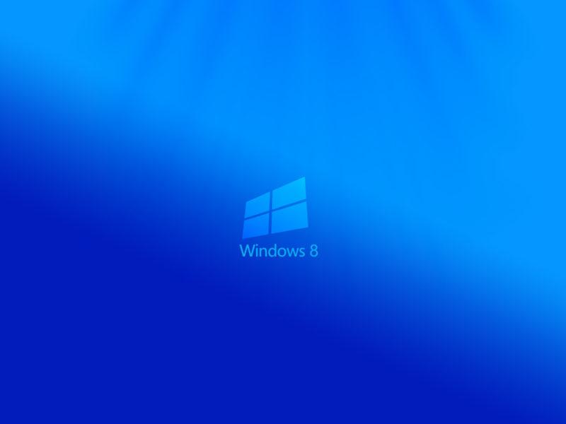 Обои Windows 8, восьмёрка, логотип, 3d, минимализм, minimal