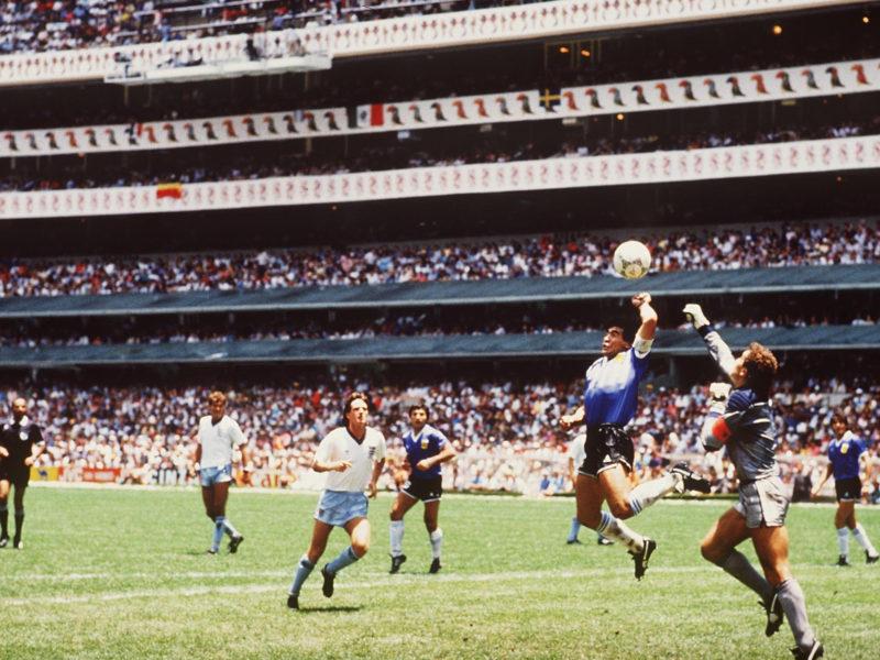Спортивный, Диего Марадона