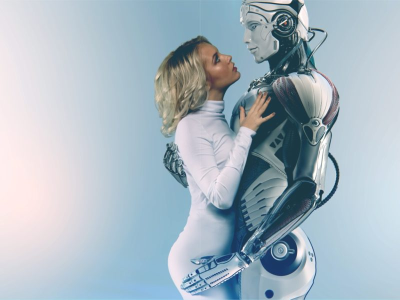 Обои woman, machine, cyborg на рабочий стол.