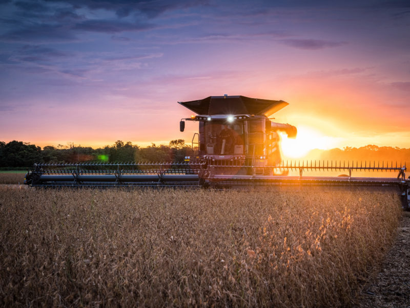 Обои Fendt Ideal, 4k, wheat harvesting, 2020 combines, combine, sunset на рабочий стол.