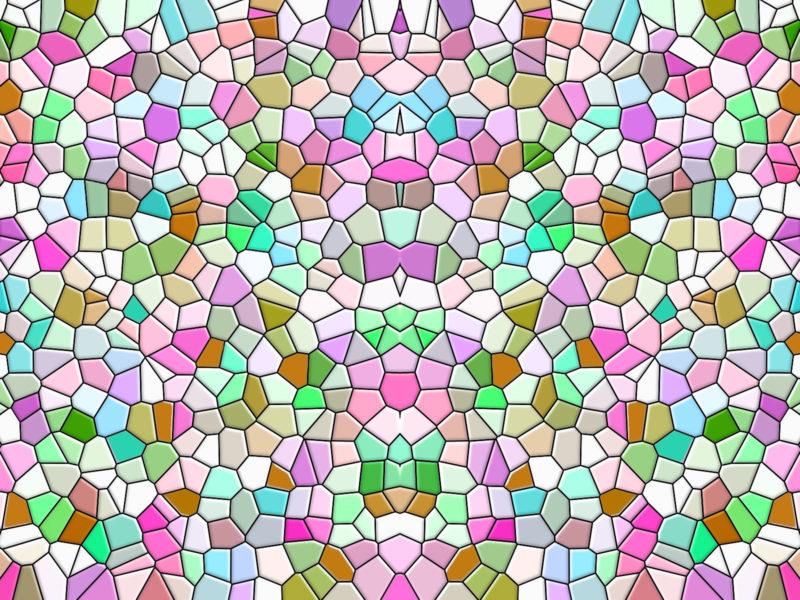 Обои мозаика, цвет, заставка на рабочий стол.