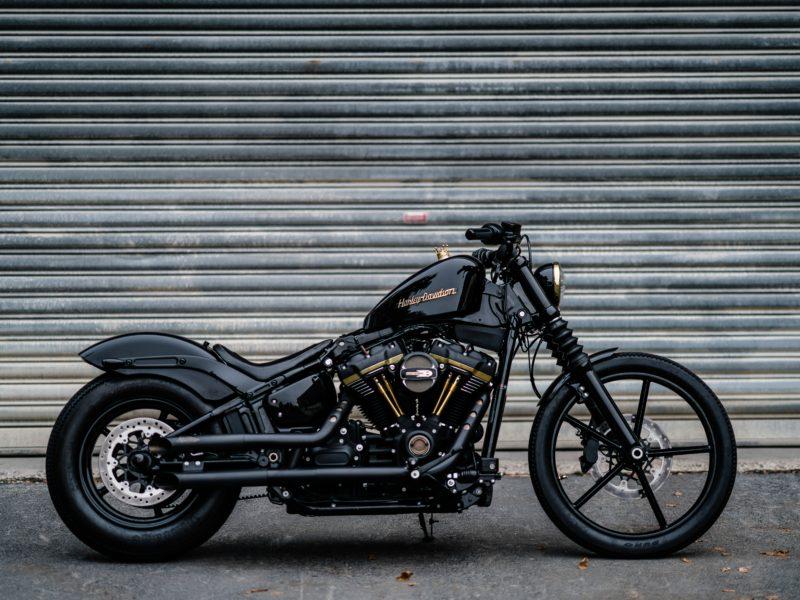 Обои Harley Davidson, Black, мотоцикл на рабочий стол.
