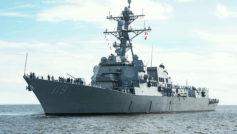 Обои USS Delbert Black, эскадренный, миноносец на рабочий стол.