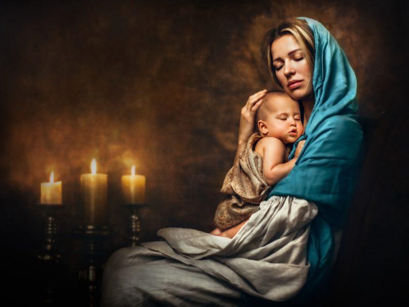 Обои ребёнок, мать, любовь, нежность для рабочего стола