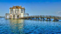 Обои италия, мост, море для рабочего стола