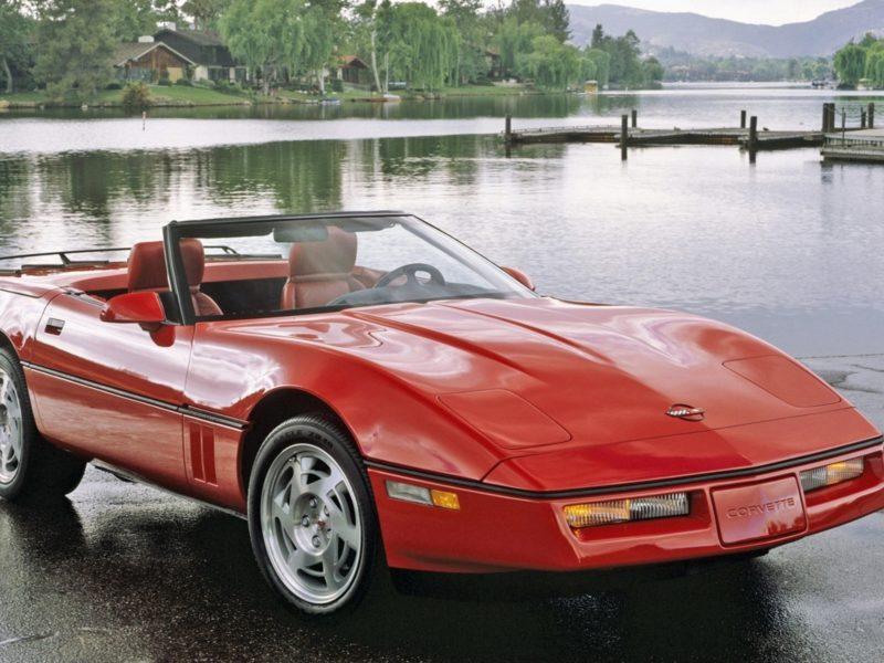 Обои авто, corvette, корветт, пейзаж, природа для рабочего стола