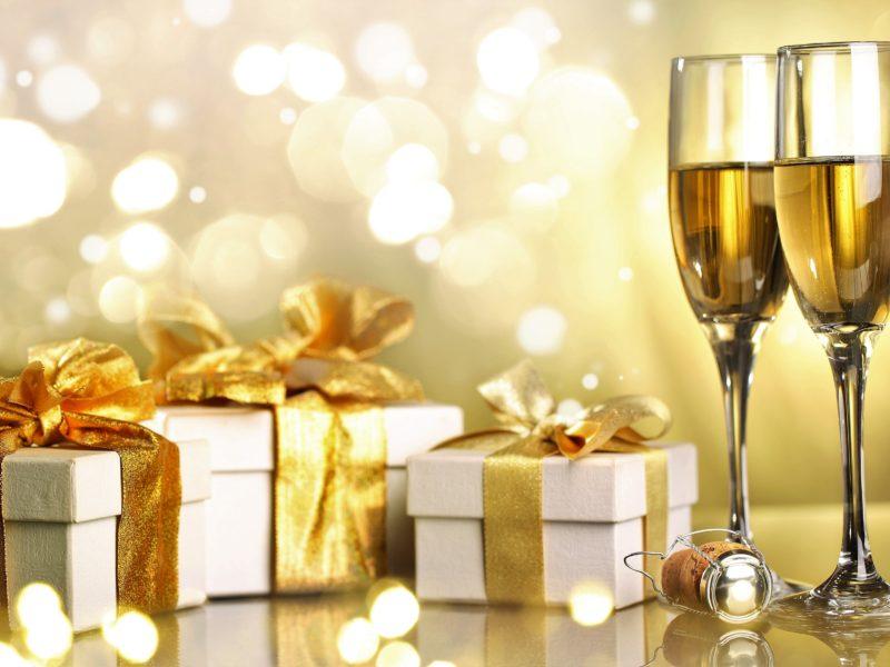 Обои подарки, к, празднику, готовы для рабочего стола