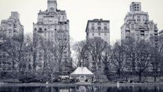 нью-йорк, Город, central park, центральный парк, озеро, new york