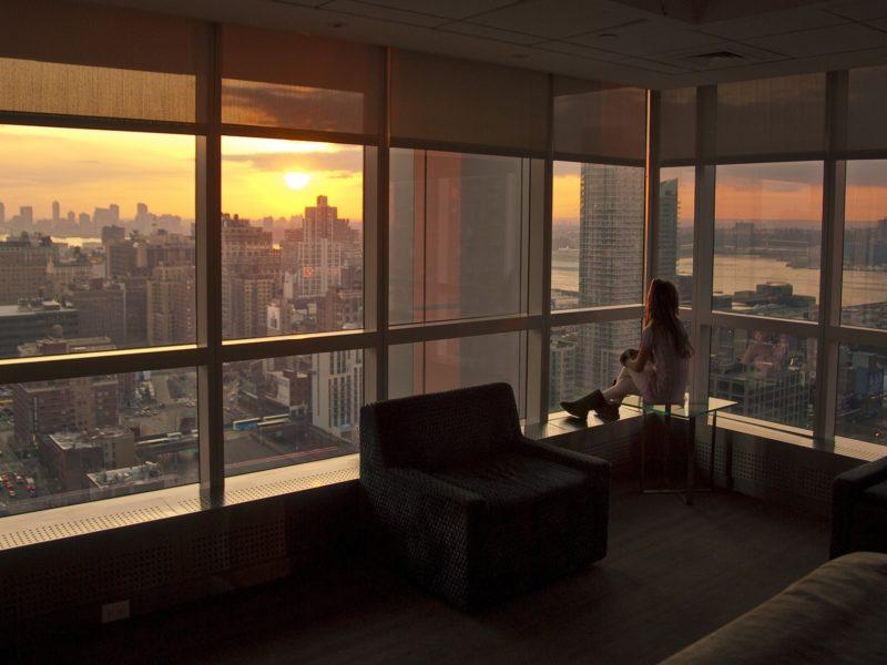 нью-йорк, New york, закат, nyc, sunset, usa
