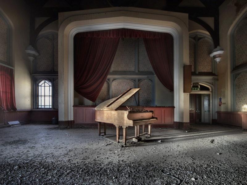 Музыка, зал, пианино