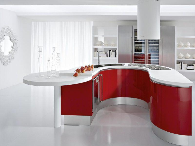 комната, Интерьер, квартира, дизайн, кухня, дом, стиль